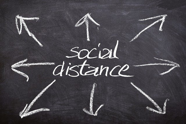 Social distance and lockdown